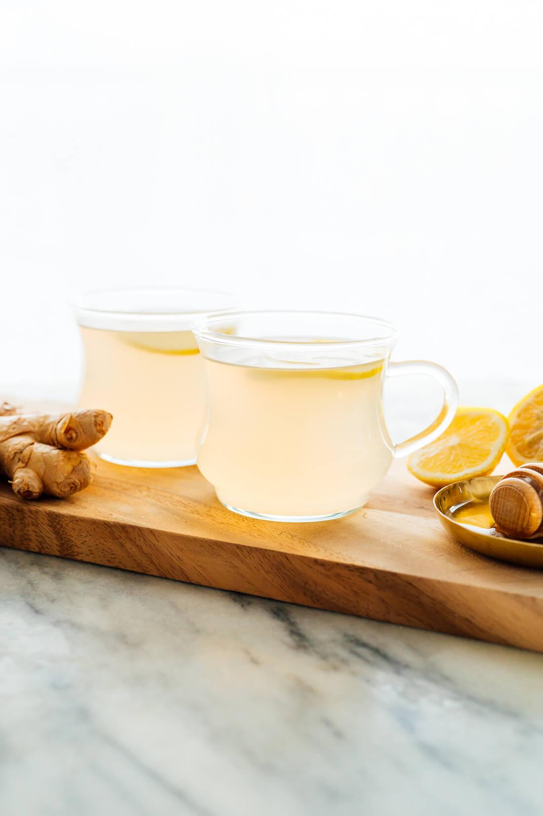fresh ginger tea recipe