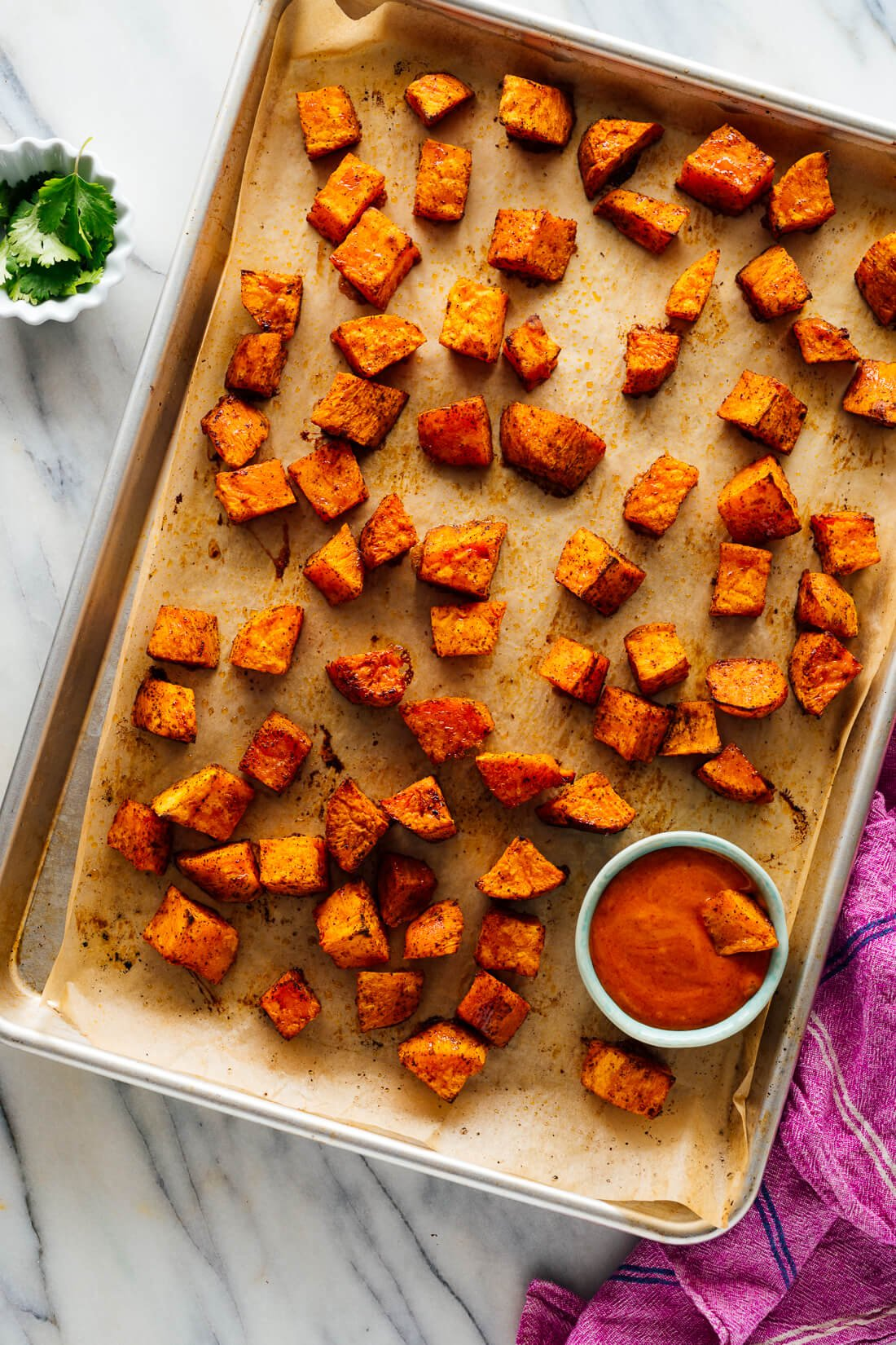 perfect roasted sweet potatoes recipe