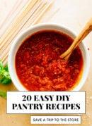 20 easy DIY pantry recipes