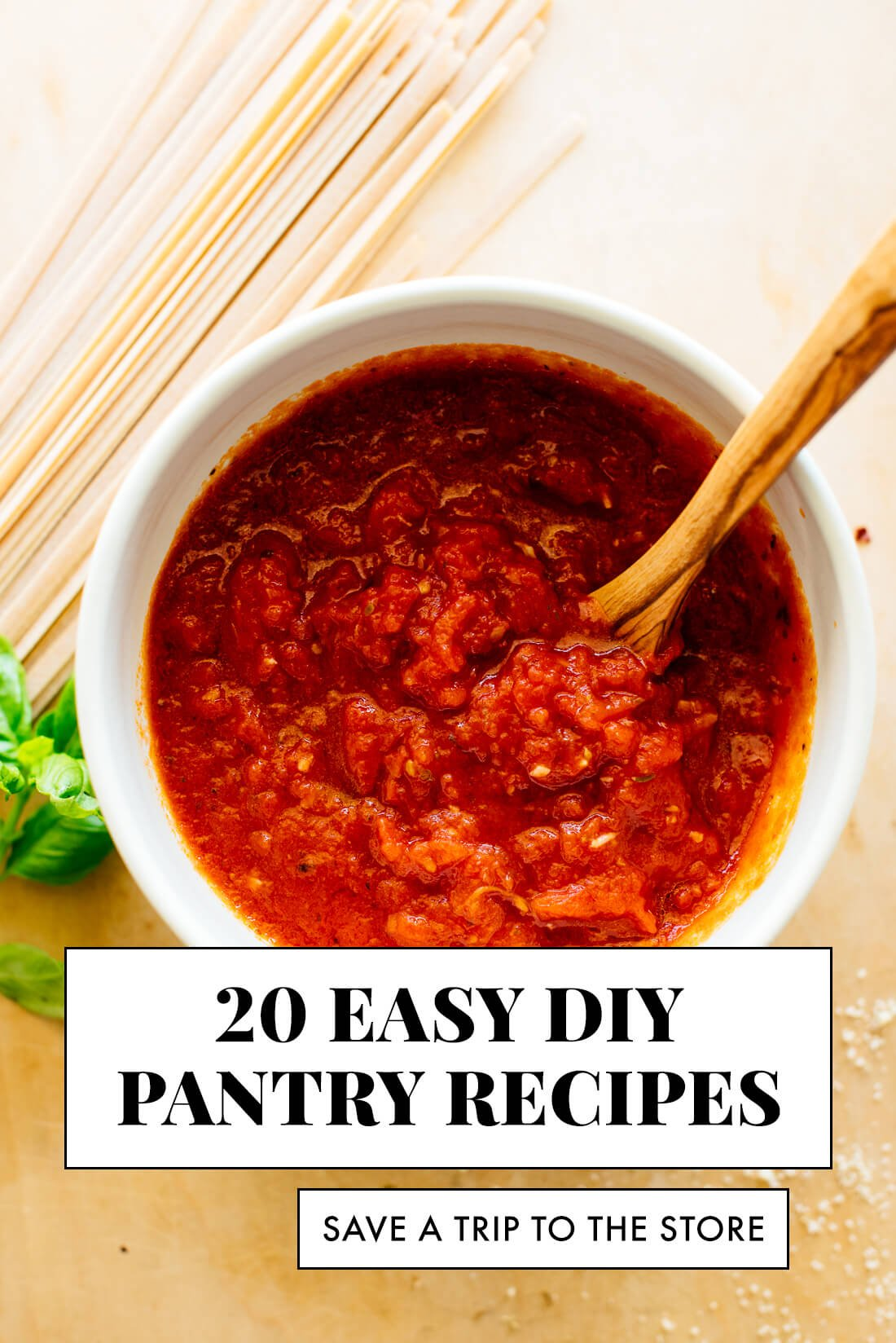 20 Diy Pantry Recipes Cookie And Kate