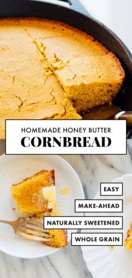 receta casera de pan de maíz