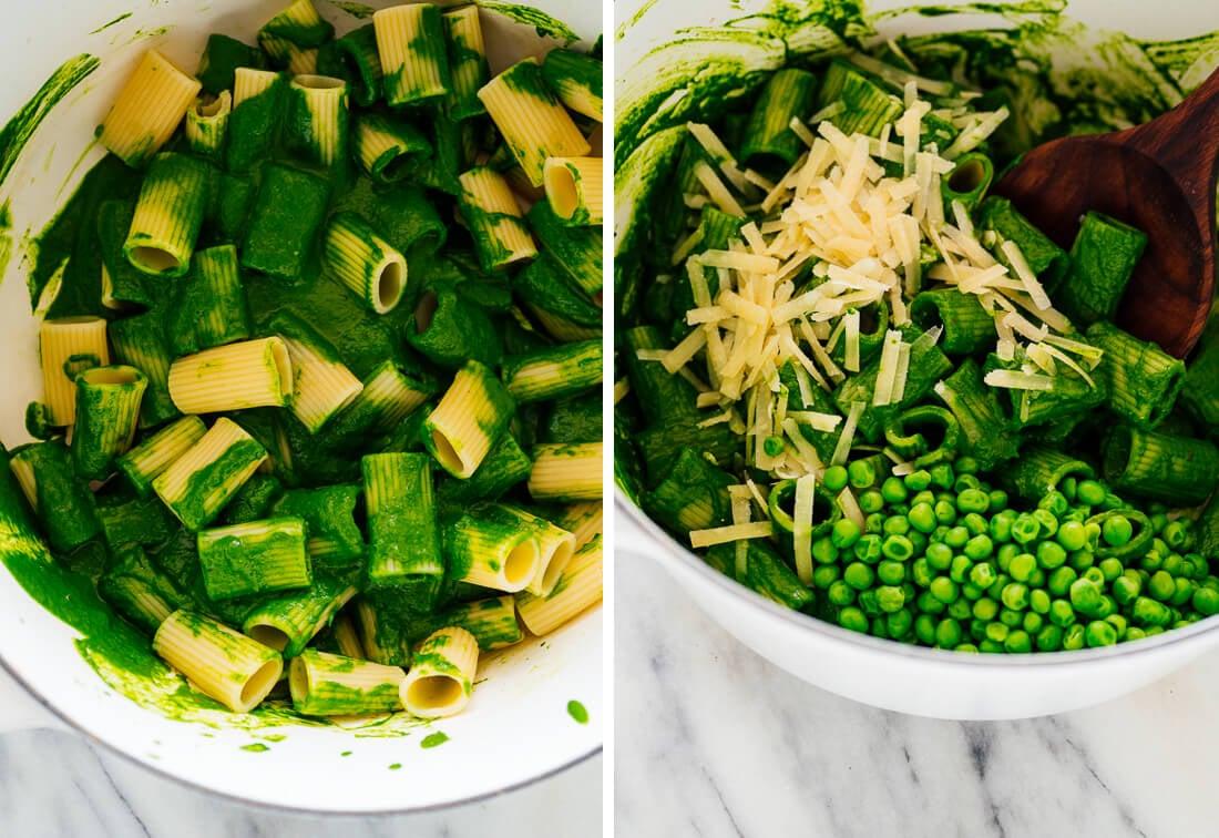 how to make lemony kale pasta