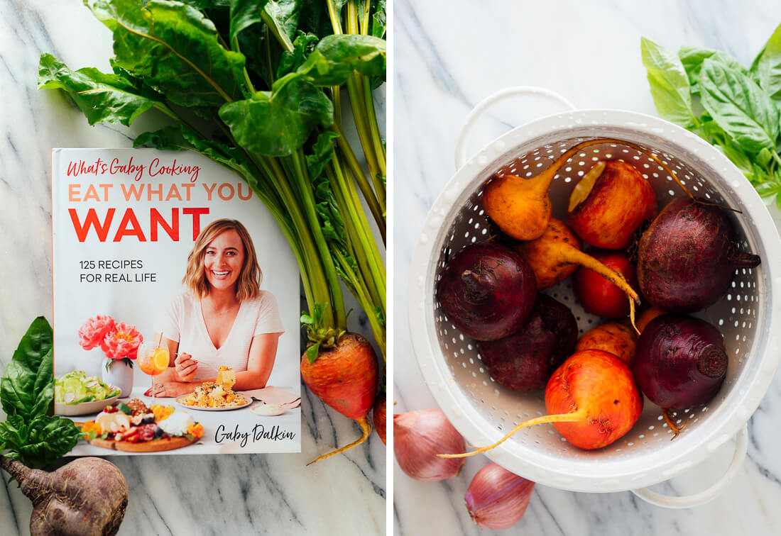 eat what you want cookbook with beets