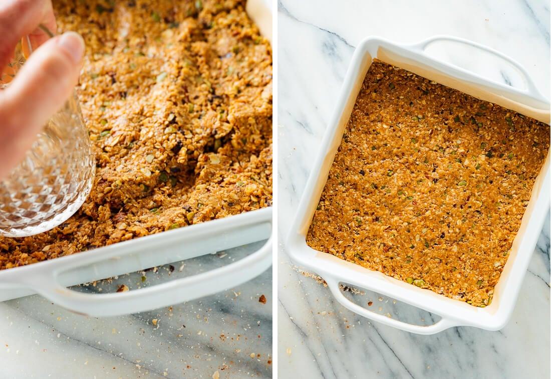 how to make granola bars