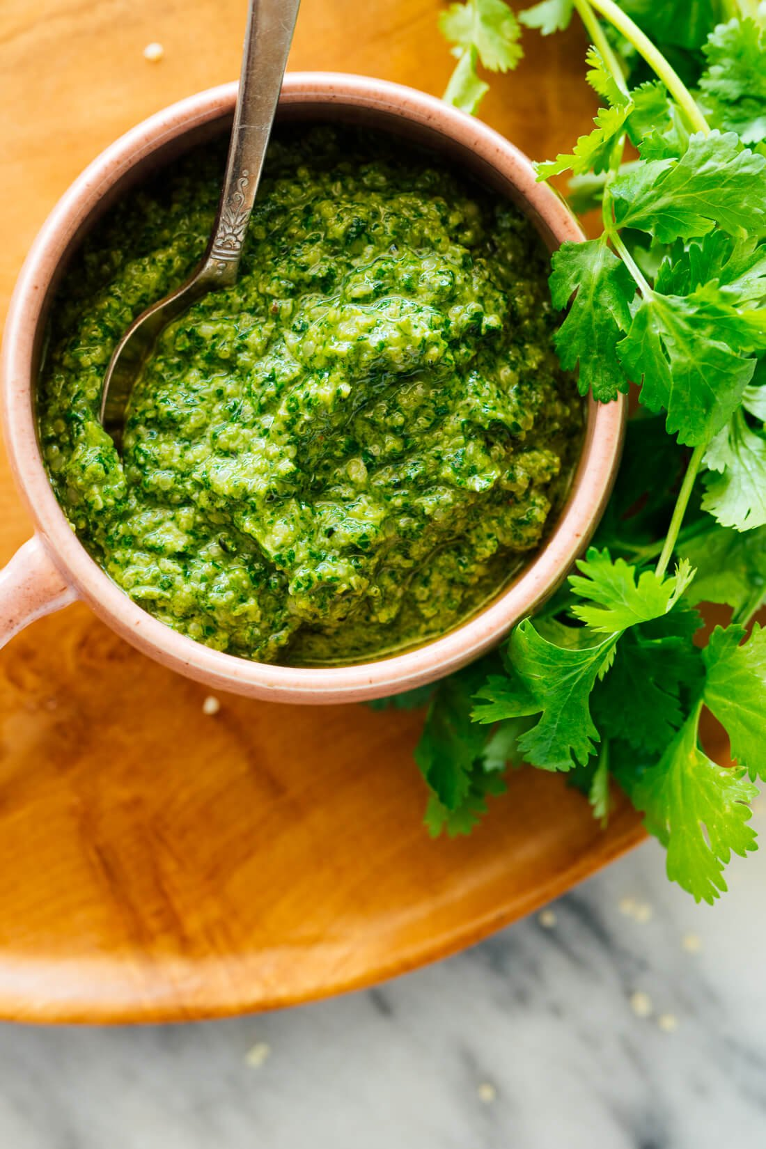 cilantro hemp pesto recipe