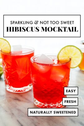 easy refreshing mocktail recipe