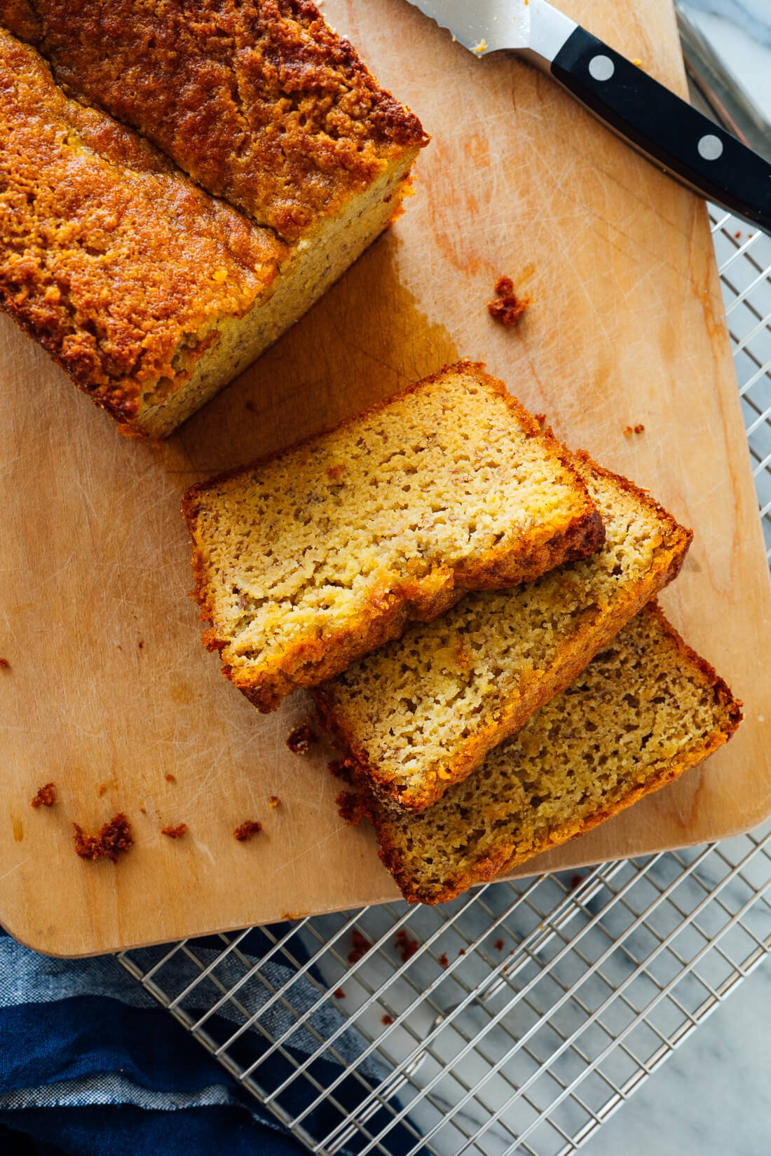 Gluten Free Banana Bread Recipe With Almond Flour Cookie And Kate