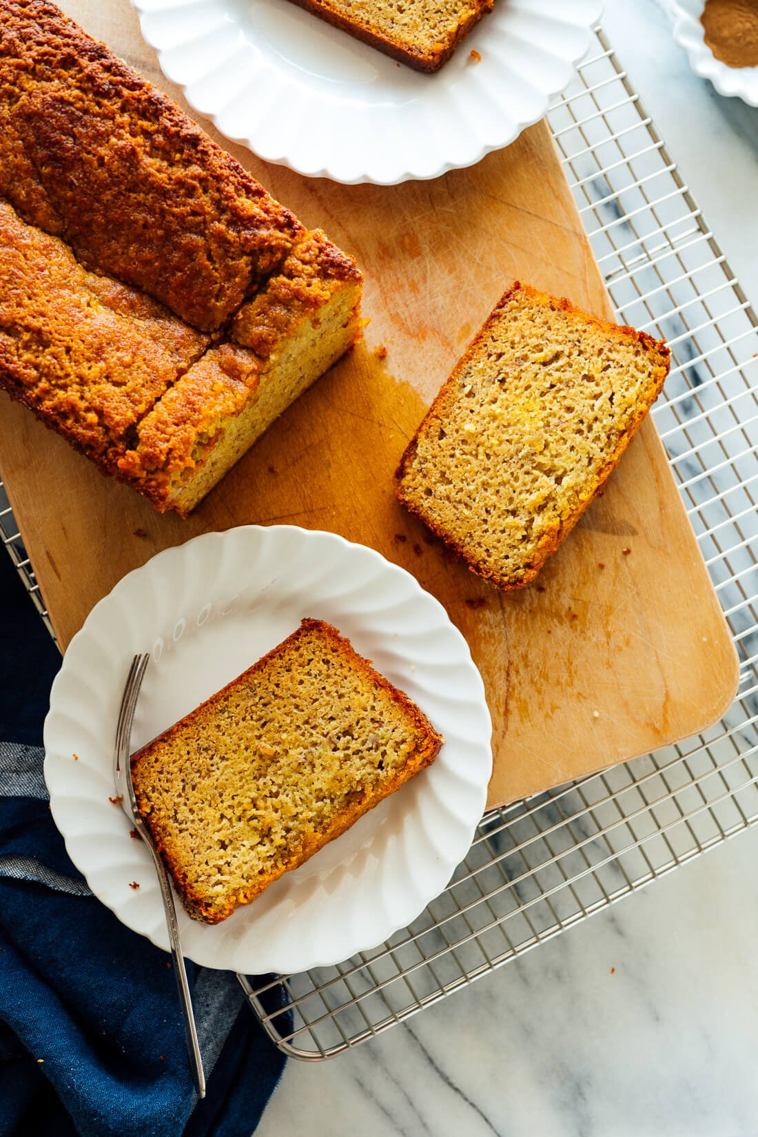 gluten-free banana bread with almond flour