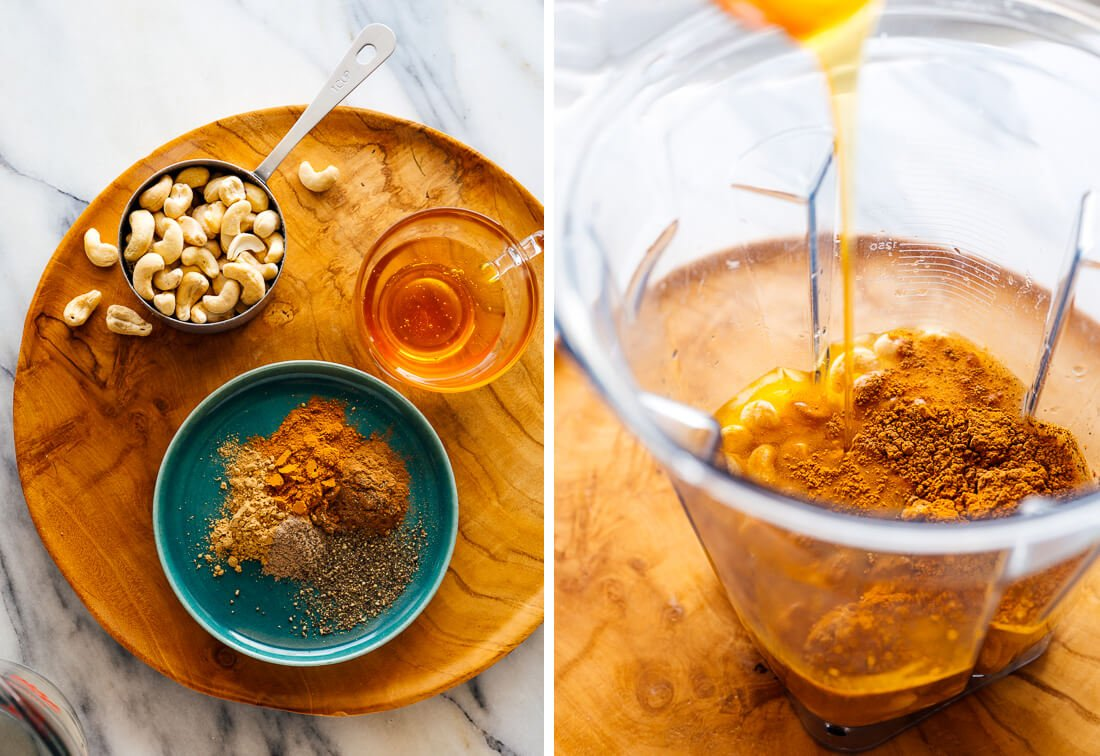 golden milk ingredients