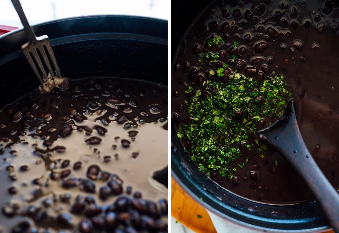 how to season black beans