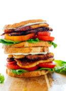 "Vegetarian ""BLT"" Sandwich"