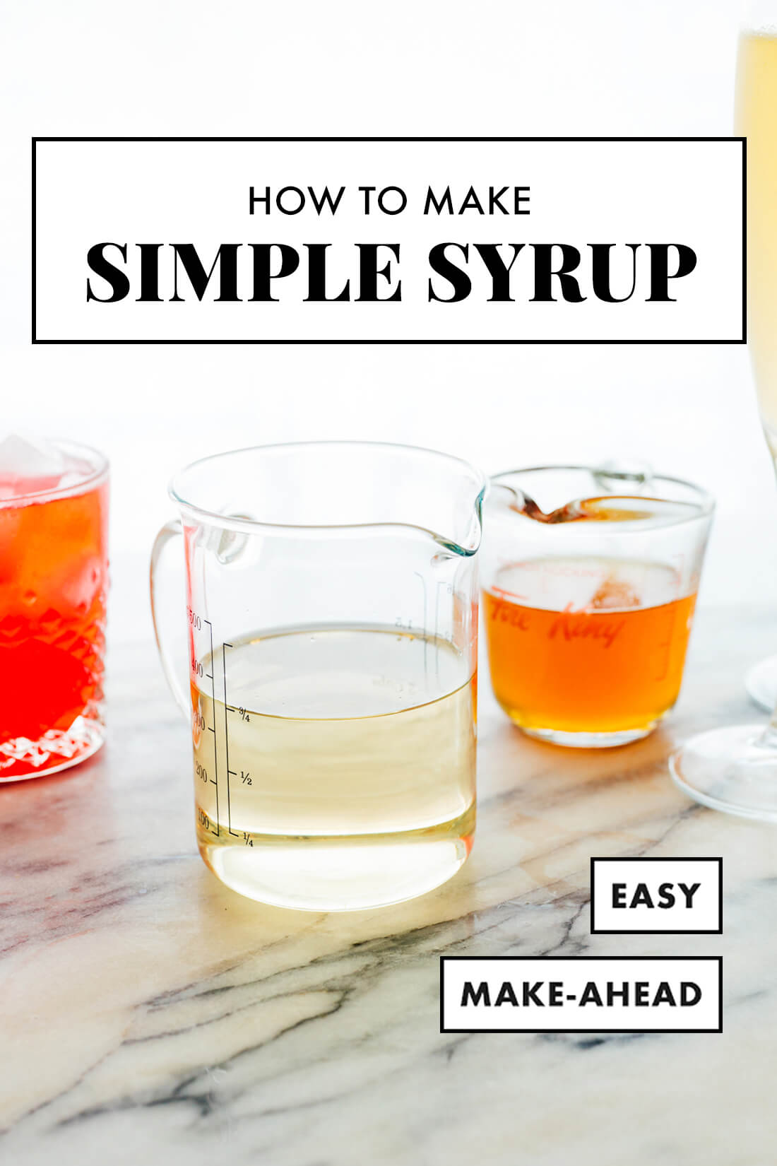 easy simple syrup recipe