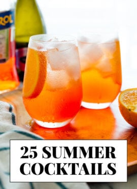 25 summer cocktail recipes