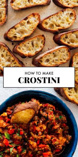 crostini para pinterest