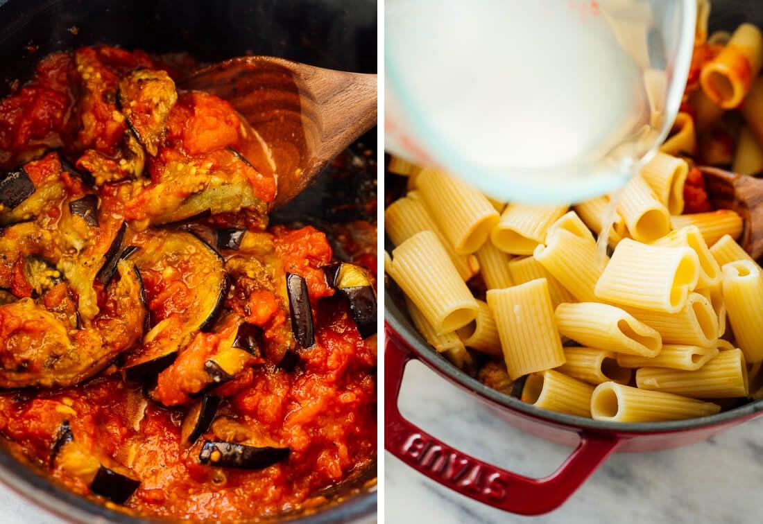 how to make pasta alla norma