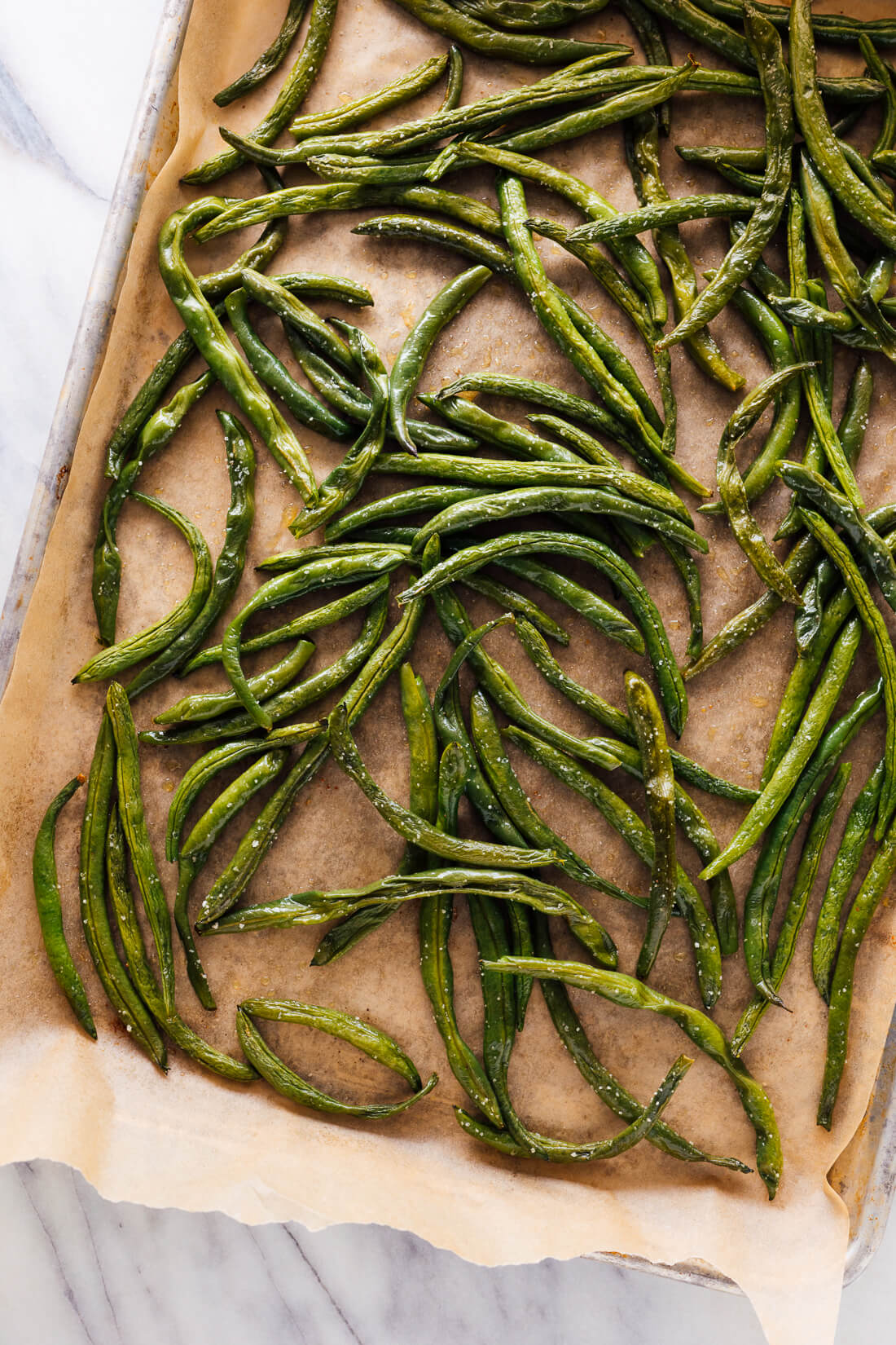 roasted green beans recipe