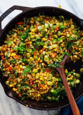 Vegetarian Succotash