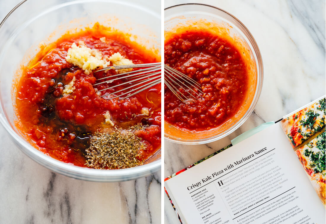 how to make pizza sauce