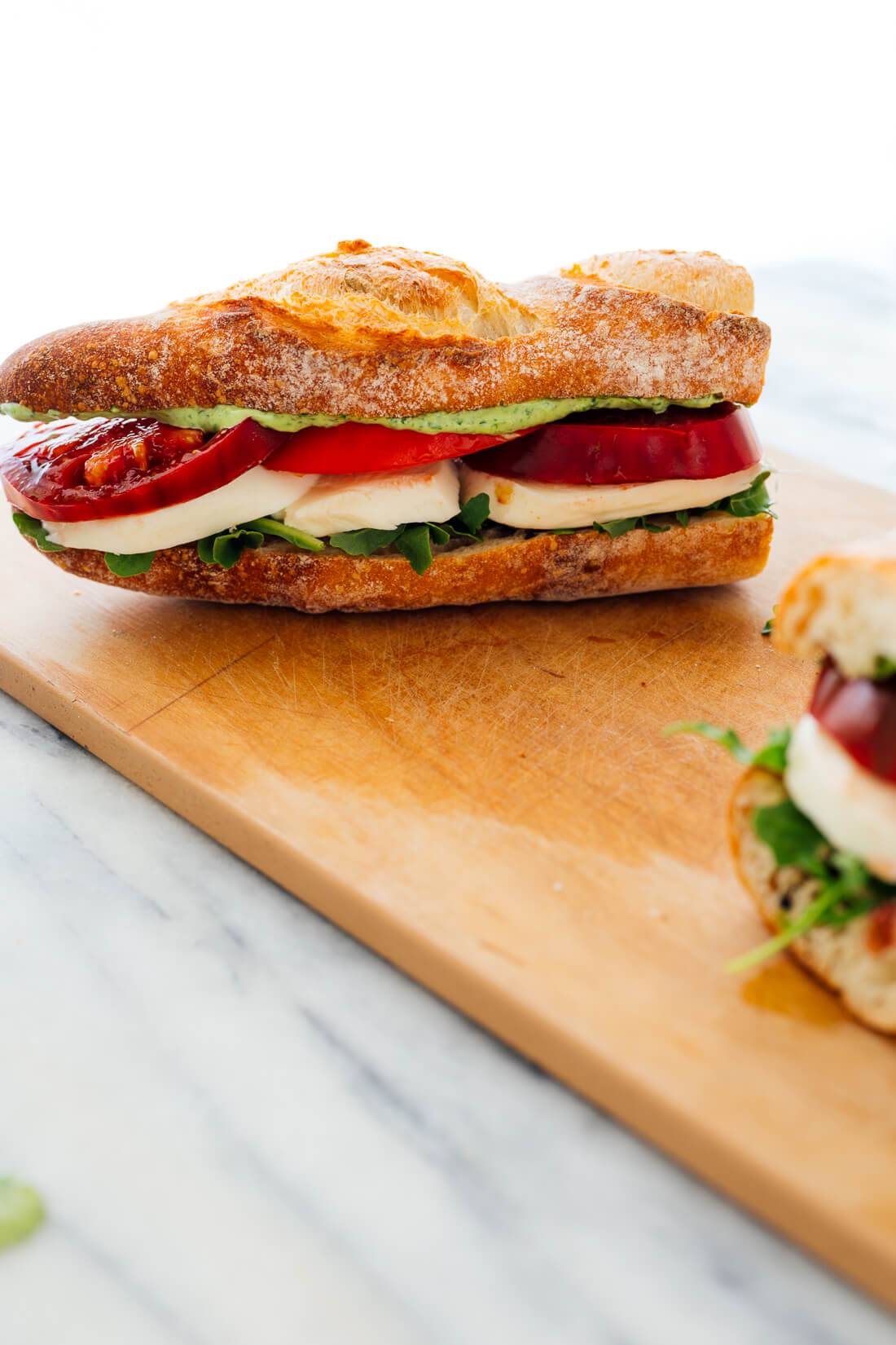 vegetarian baguette sandwich recipe