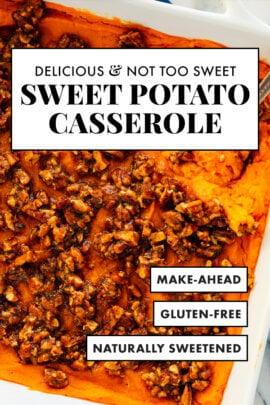 amazing sweet potato casserole recipe