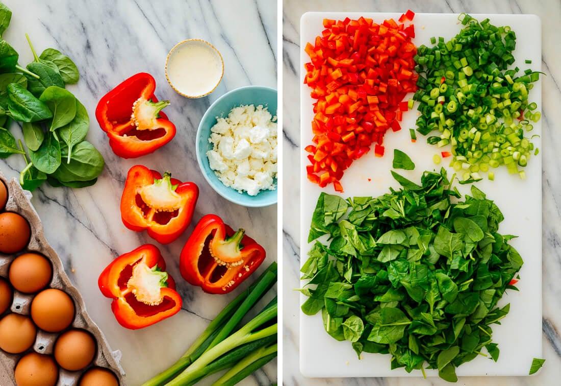 healthy breakfast casserole ingredients