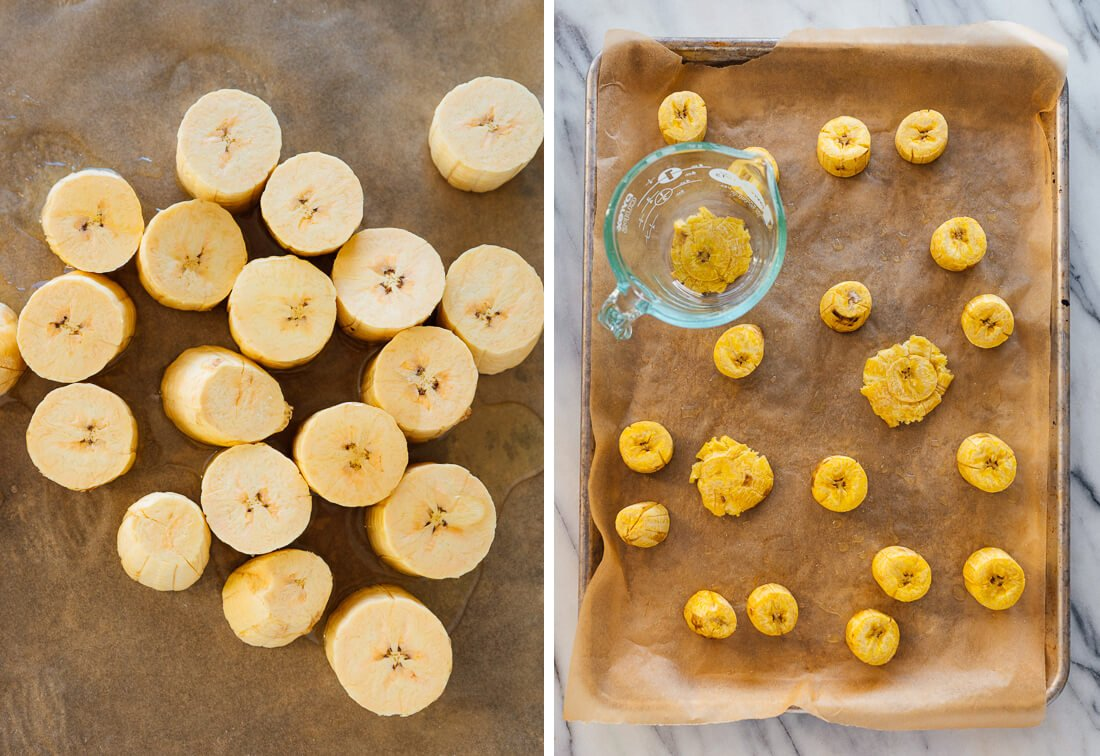 how to bake tostones
