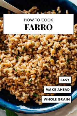cooked farro recipe