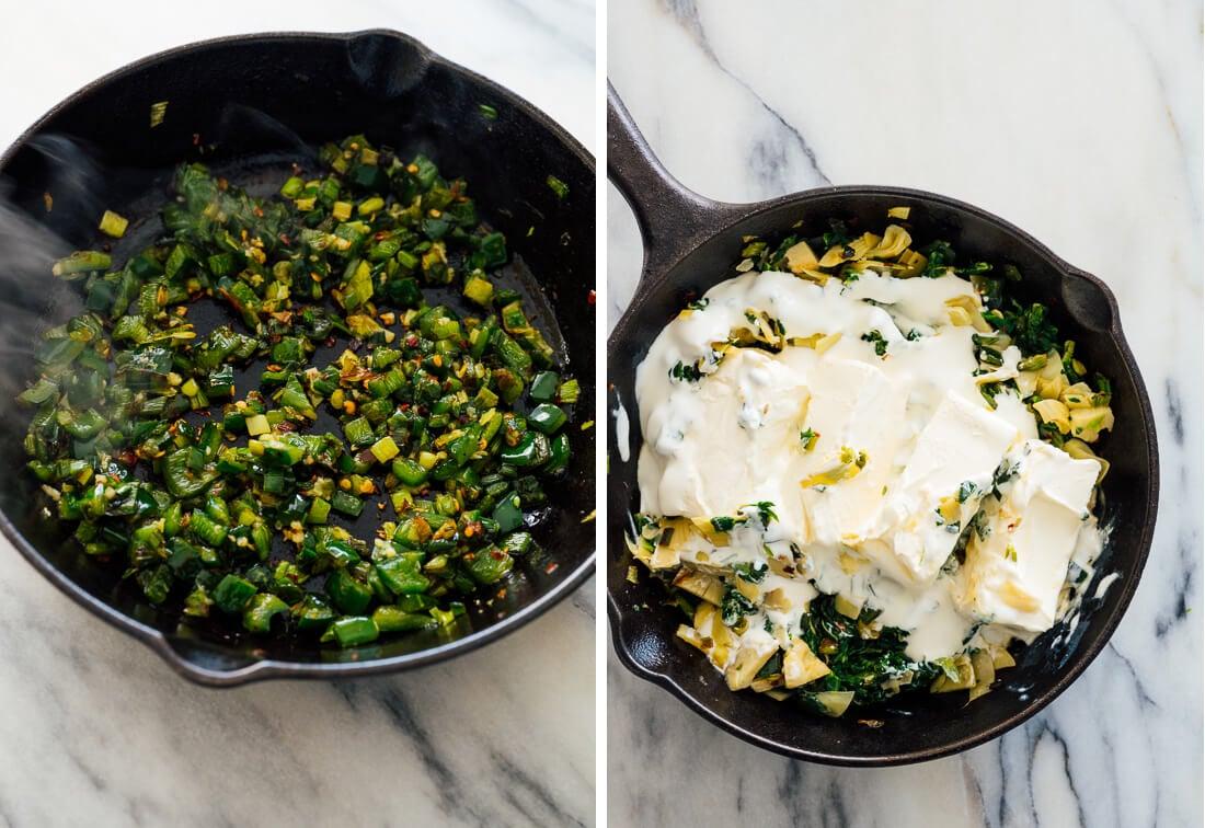 how to make creamy spinach artichoke dip