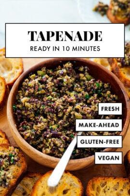 quick tapenade recipe
