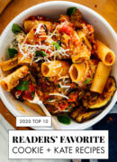 Your Top 10 Recipes of 2020