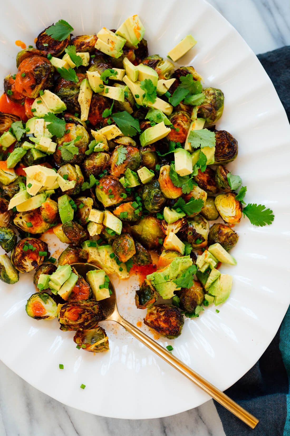 Buffalo Brussels sprouts appetizer recipe