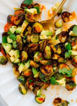 buffalo brussels sprouts recipe