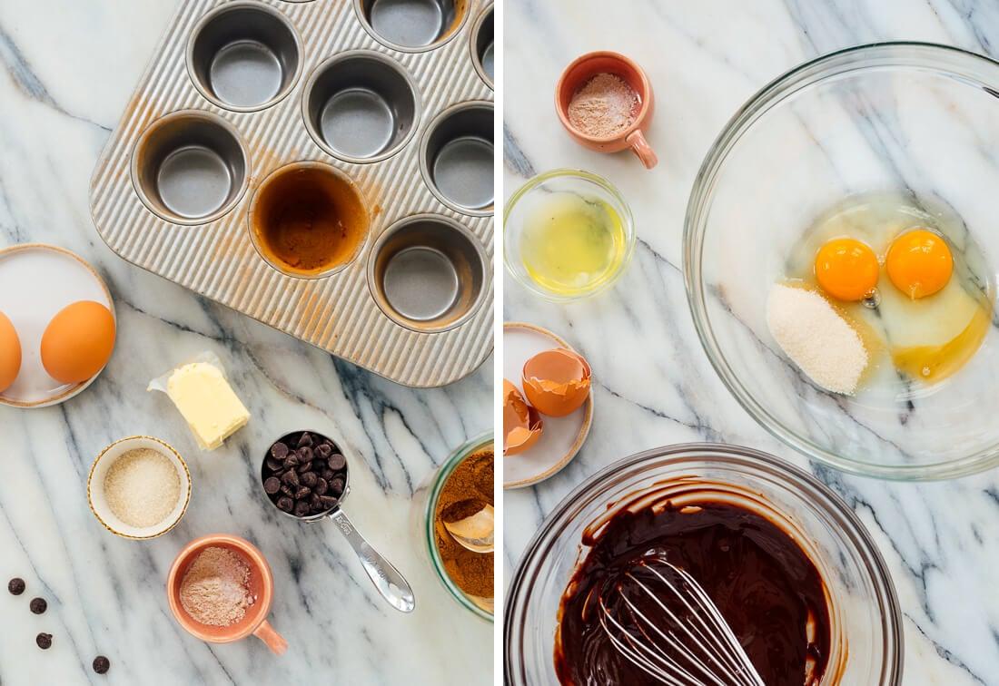 chocolate lava cake ingredients