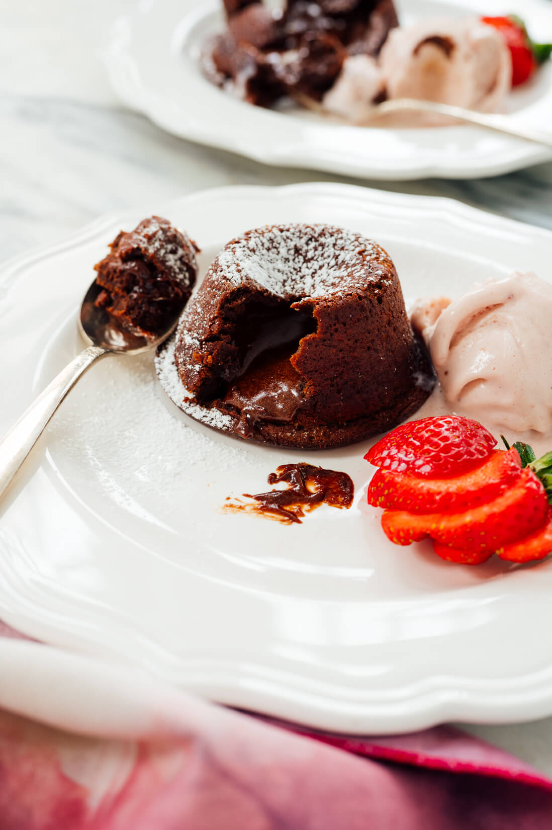 mini chocolate lava cake recipe