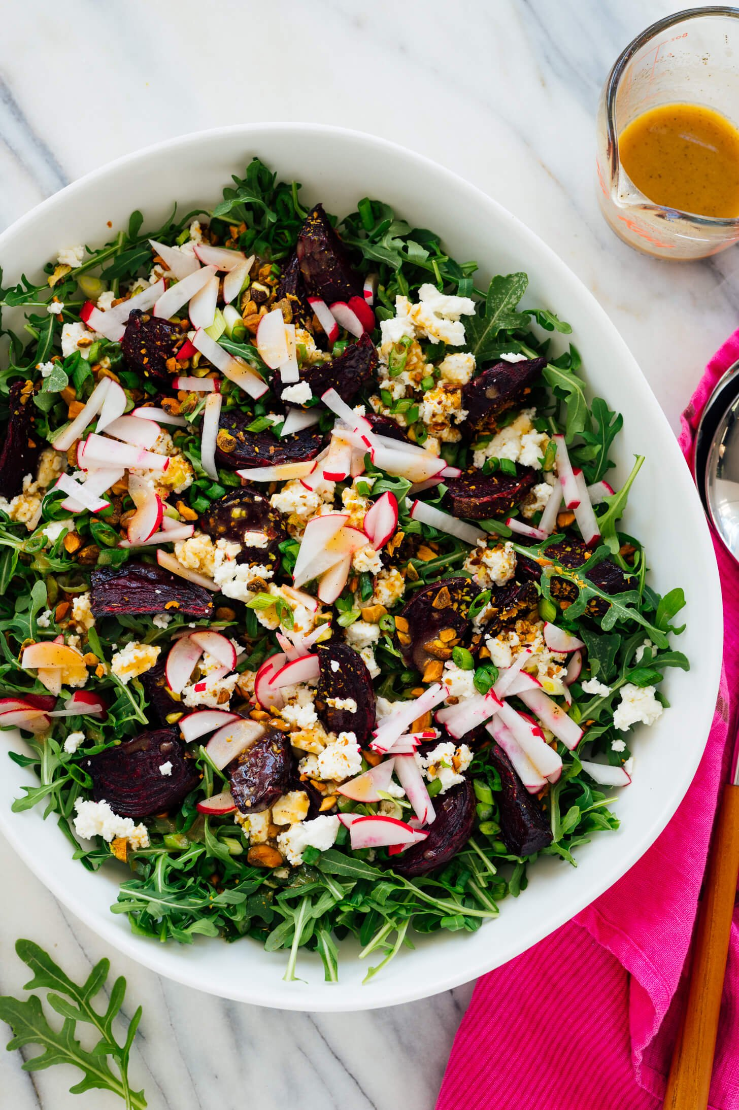 roasted beet arugula salad recipe