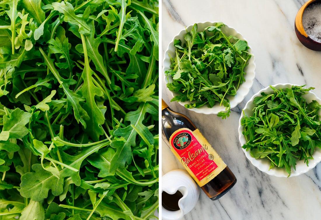 arugula salad ingredients