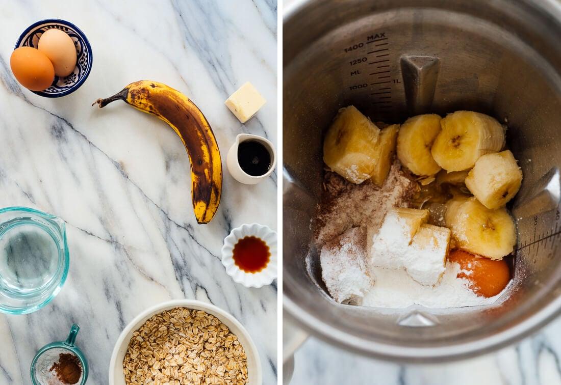 oatmeal pancake ingredients
