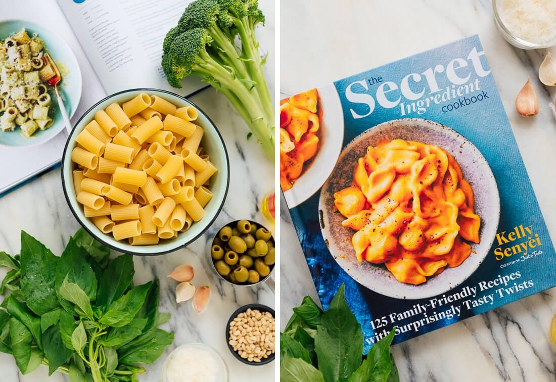 broccoli pesto pasta ingredients