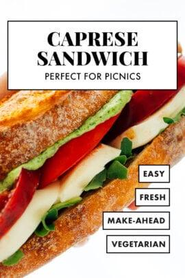 tomato mozzarella sandwich recipe