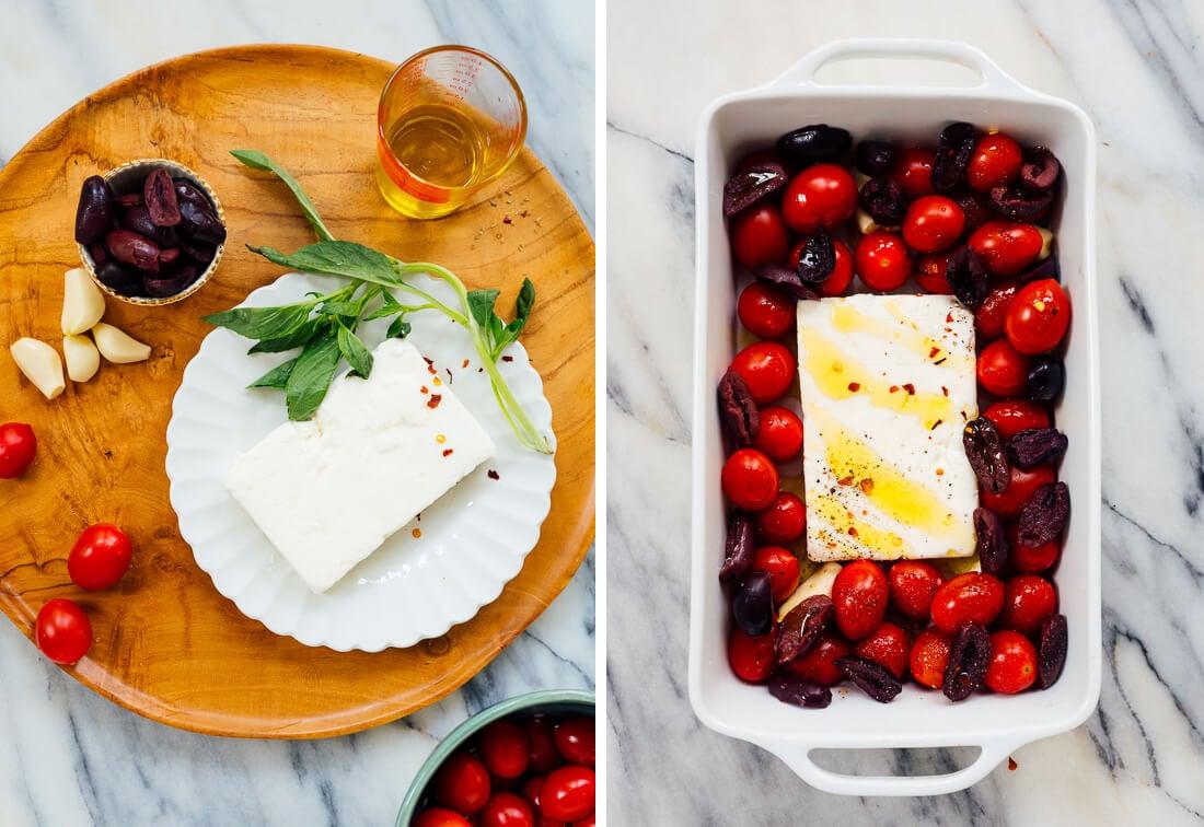 baked feta dip ingredients