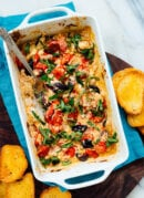 Baked Feta Dip with Cherry Tomatoes