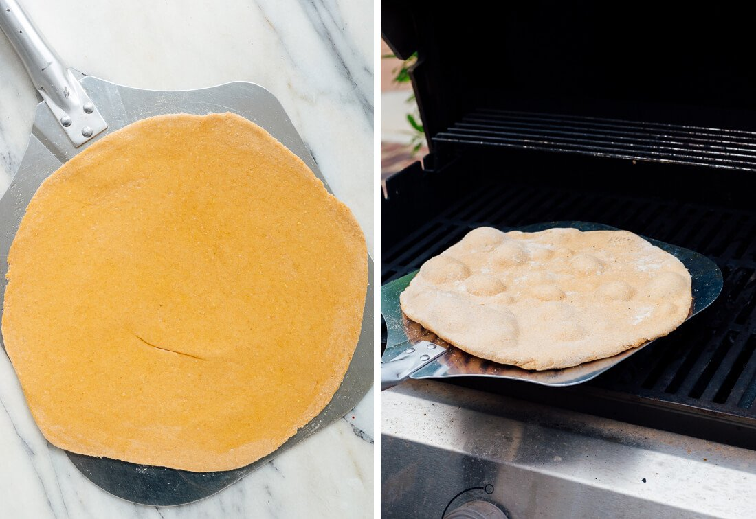pizza dough for grilling